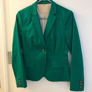 Banana Republic Green Blazer